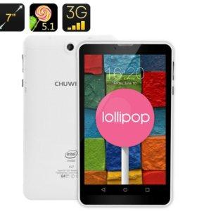 ★Планшет Chuwi vi7 Android 5.1 четырехъядерный 1GB