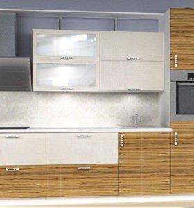 Кухонный гарнитур Зебрано