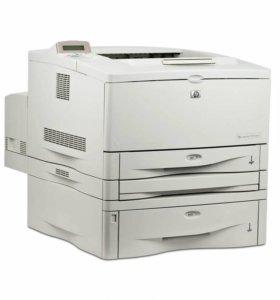 Новый лазерный принтер hp laserjet 5100dtn