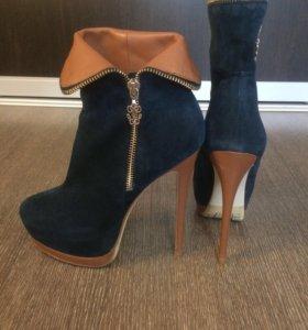 Новые ботинки натуральные