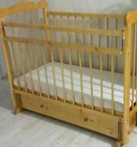 Детская кроватка с 0-3