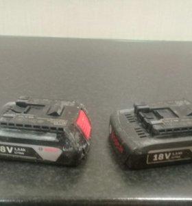 Аккумуляторы для шуруповерта BOSCH 18V