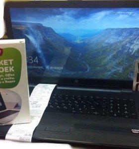 """Новый Игровой Ноутбук HP17"""" озу 8 Gb Жесткий 1 Тb"""