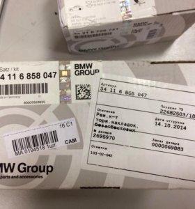 Тормозные колодки на BMW f10