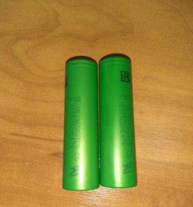 2 Аккумулятора 18650 Sony vtc5