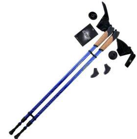 Палки для скандинавской ходьбы berger новые магази