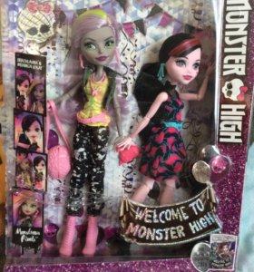 Новый набор кукол Монстер Хай