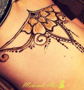 Мехенди - роспись по телу хной