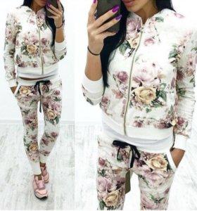 Цветочный костюм