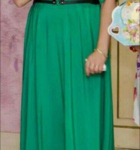 Платье в пол .