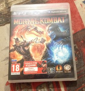 Игра на PS3 Mortal Kombat