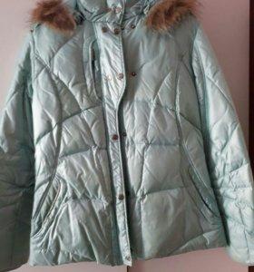 Куртка пуховик горнолыжная