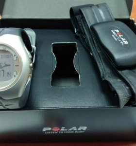 Пульсометр Polar F7 (часы+нагрудный датчик)