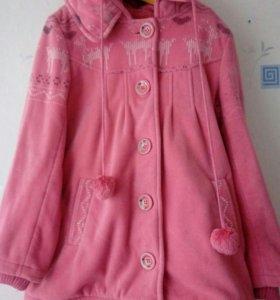 Теплое пальто на осень-весну