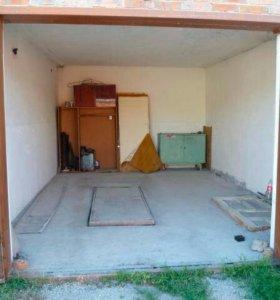 Двухуровневый капитальный гараж