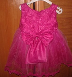 Новое праздничное платье на годик