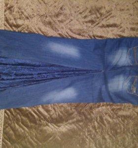 Юбка новая,джинсовая,размер 40