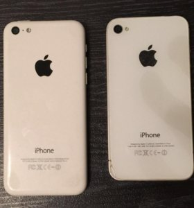 Два айфона 5с 4s