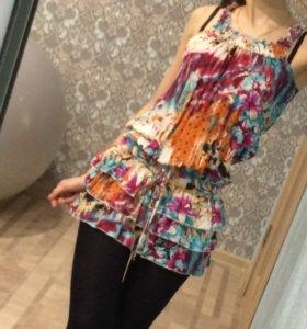 Платье-блузка
