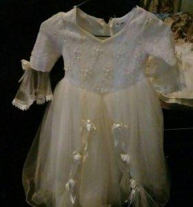 Красивое платья для маленькой принцессы