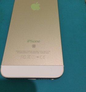 Корпус на iPhone 5 под SE золото