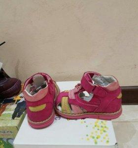 Туфельки Perlina ортопедик 19 размер