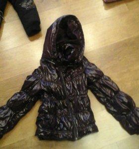 куртка на девочку (весна)