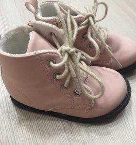 Детские ботинки на весну р-р 20-21