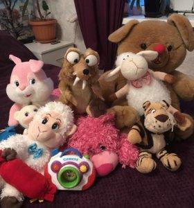 игрушки плюшевые