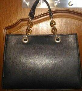 Кожаная сумка Acquanegra