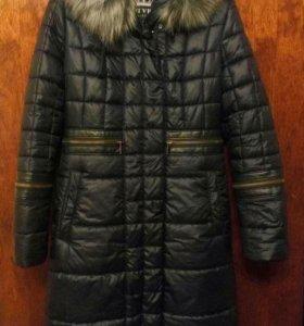 Пуховик зимний , 46 размер