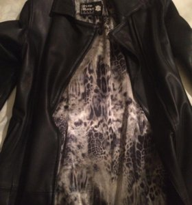 Кожаный плащ ,куртки,пиджаки