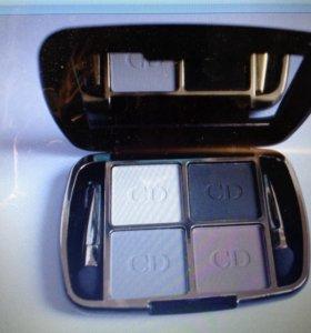 Тени Dior 4 цвета