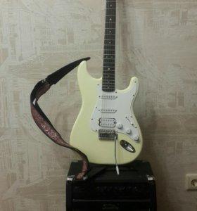 Гитара и усилитель