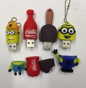 Флешки USB 2 GB