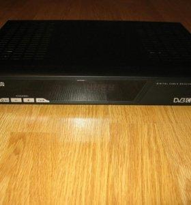 Цифровой кабельный ресивер твч (hdtv) HD-9320