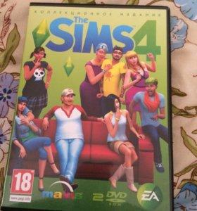 Диск Sims 4 на ПК