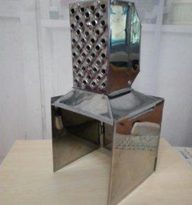 Теплообменник для палатки ветикальный