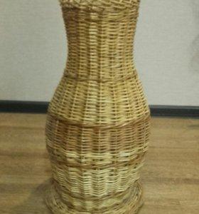 Соломенная ваза .