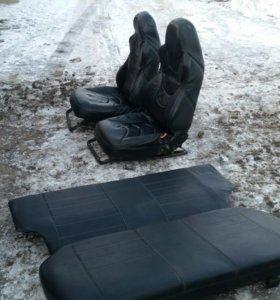 Сиденья в экокоже от ВАЗ 2115