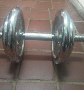 Гантеля 15-16 кг