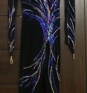 Новое бальное платье латина