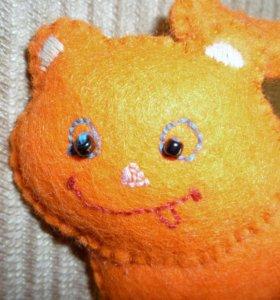Игрушка из фетра. Фетровый котик