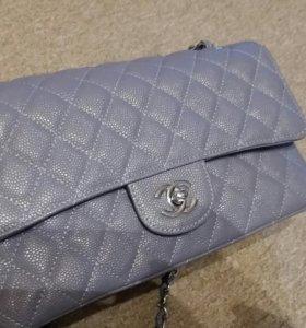 Шанель chanel 25.5 кожаная сумка