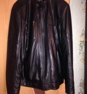Куртка мужская, материал -кож.зам