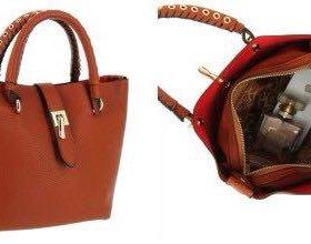 Новая сумка Hermes коричневая