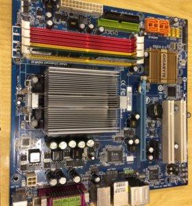 Материнская процессор оперативка