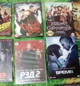 Фильмы на dvd. 116 дисков.