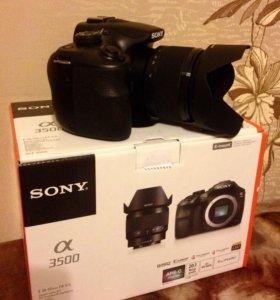 Новый Фотоаппарат Sony A3500 20 мегапикселей