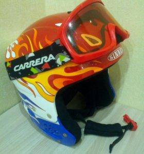 Шлем для сноуборда и маска